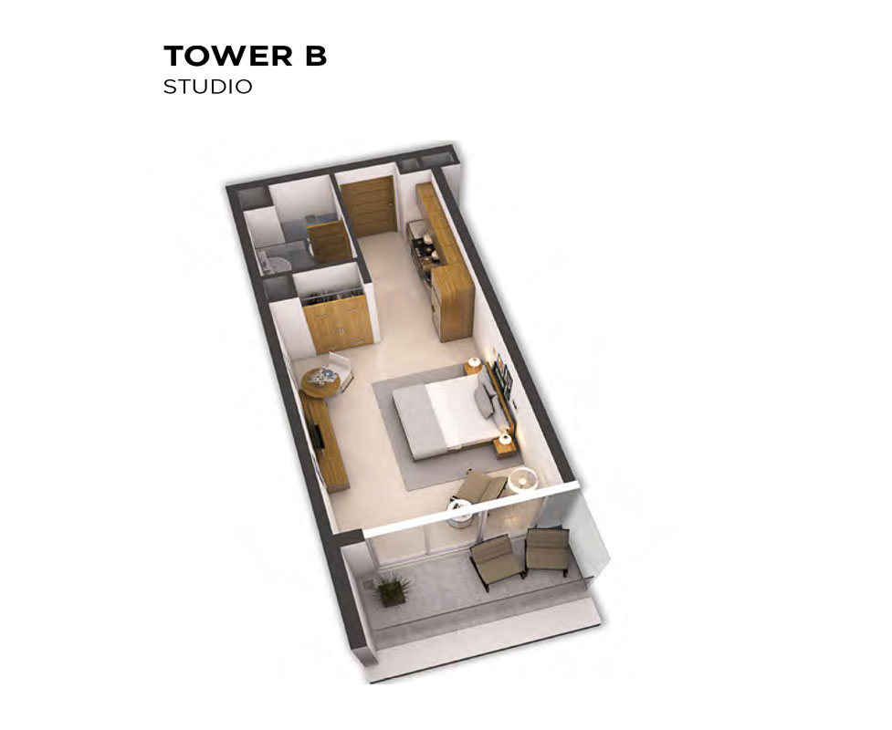 Tower B - Level 12-35