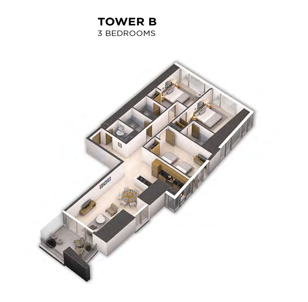 Tower B - Level 38-52